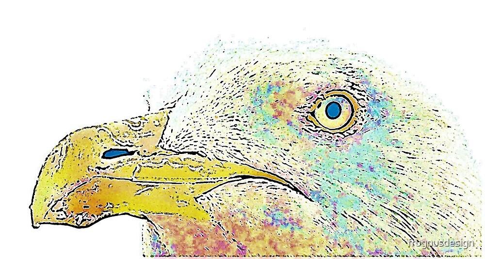 Seagull portrait by frugnusdesign