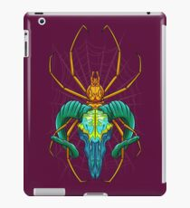 Bright Spider Skull iPad Case/Skin
