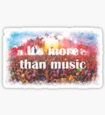 it's more than music Sticker