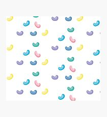 Pastel Jelly Beans Photographic Print