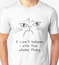 Grumpy Cat Gift - For Cat Lover Unisex T-Shirt