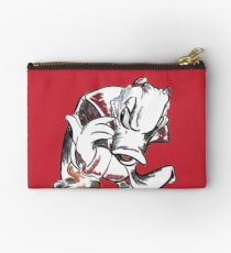 Charcoal and Oil - Devil Donald Duck Studio Pouch
