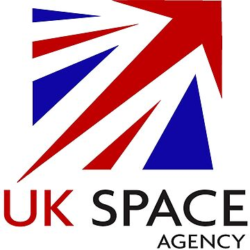 Logo of The United Kingdom Space Agency by Spacestuffplus