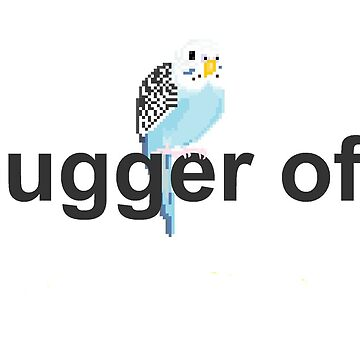 Budgie Bother by neufinger