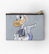 Charcoal and Oil - Angel Donald Duck Studio Pouch