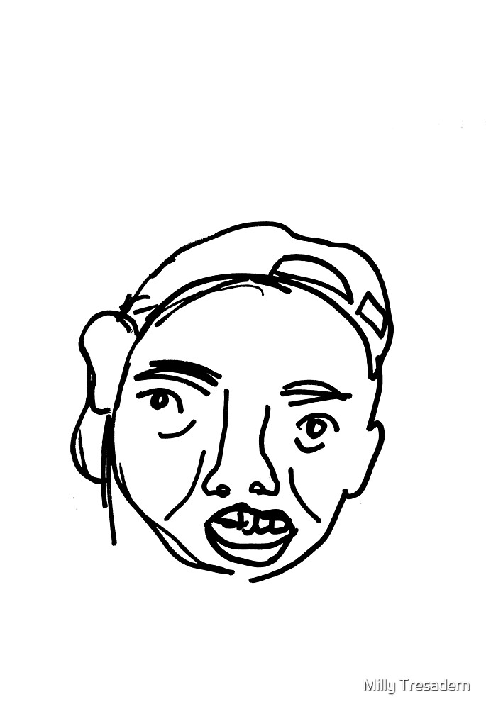 FACEDOODLE 6 by Milly Tresadern