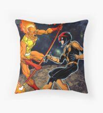 Nova v/s Firelord Throw Pillow