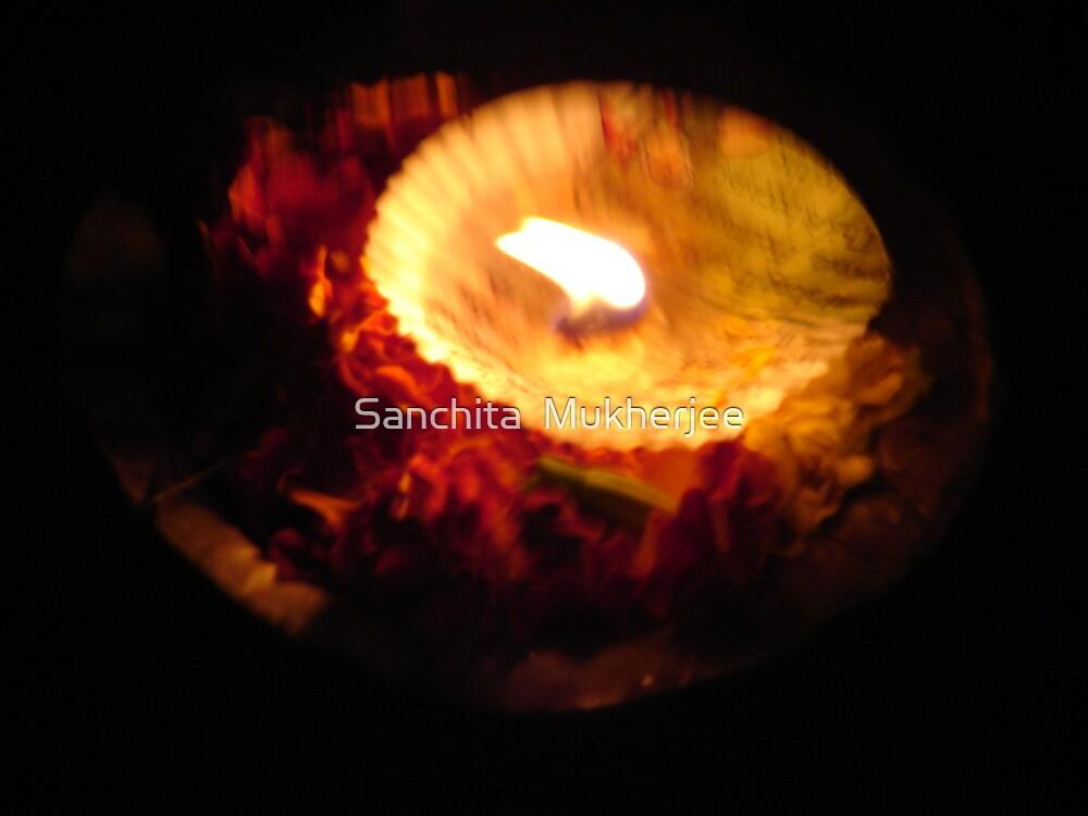 floating lamp by Sanchita  Mukherjee