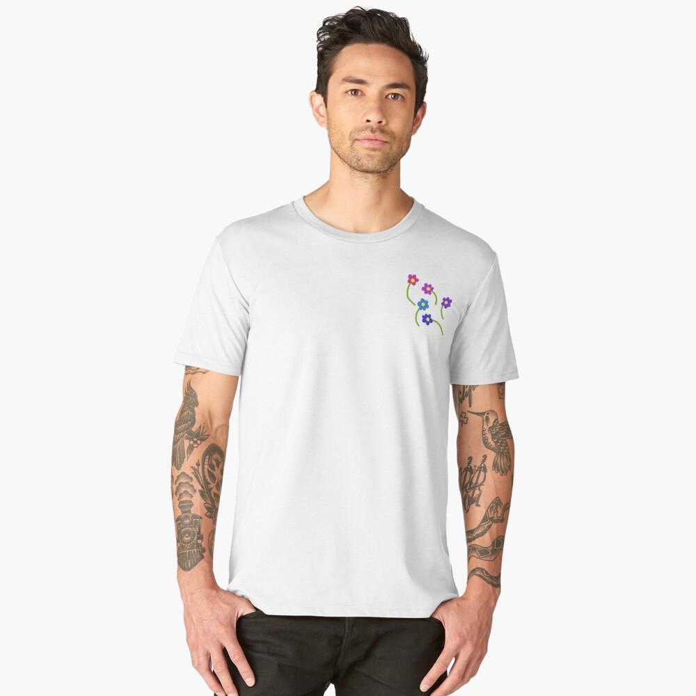 Flowers Men's Premium T-Shirt Front