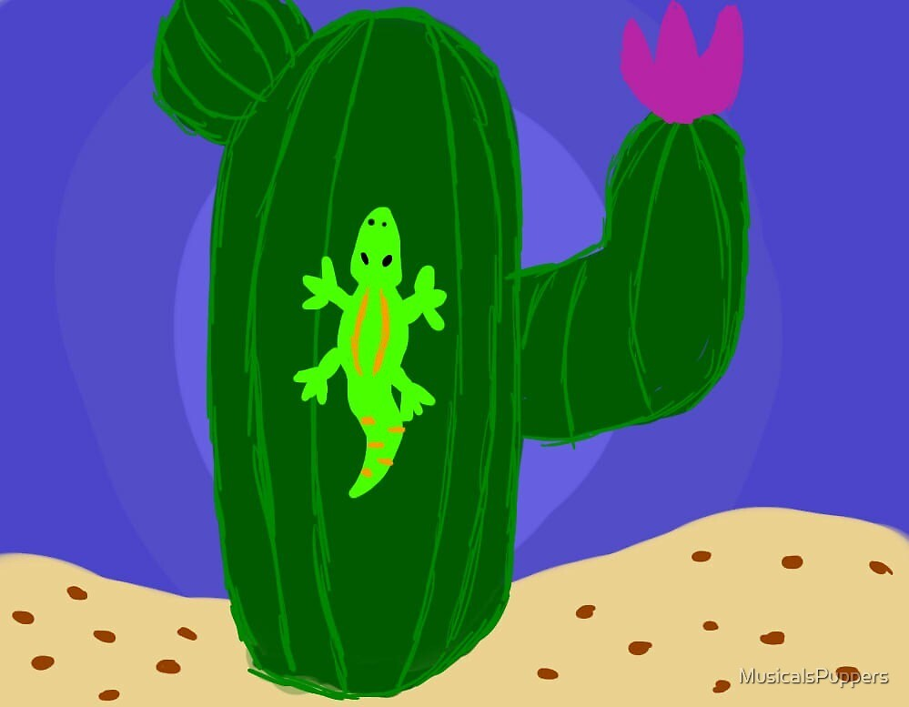 cactus by MusicalsPuppers