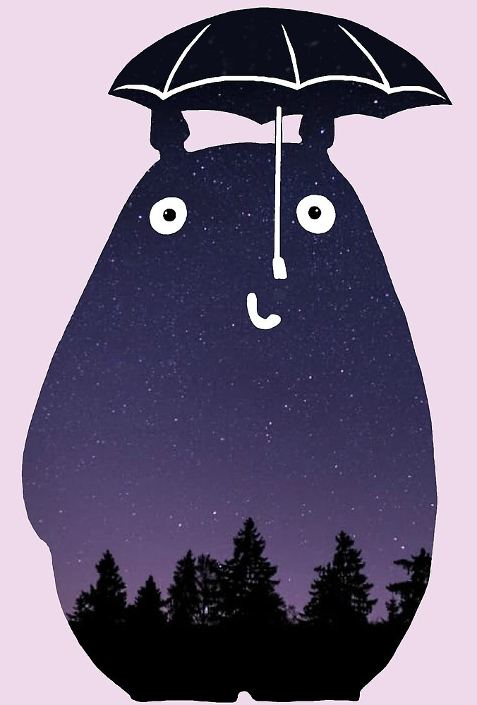 Totoro Silhouette by sianbrierley