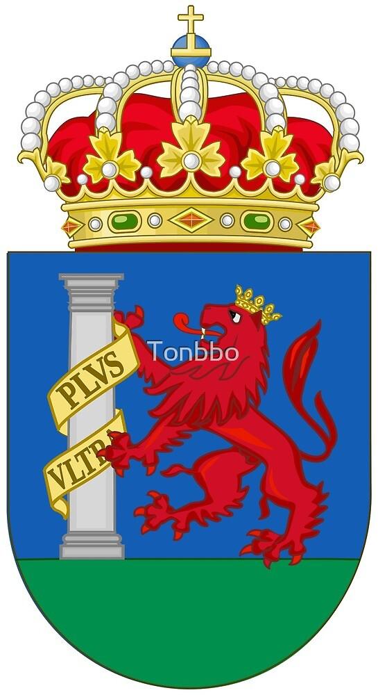 Badajoz, coat of arms by Tonbbo