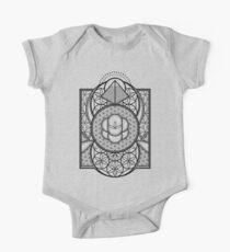 Ultra Sacred Geometry Short Sleeve Baby One-Piece
