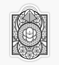 Ultra Sacred Geometry Sticker