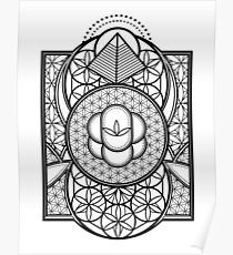 Ultra Sacred Geometry Poster