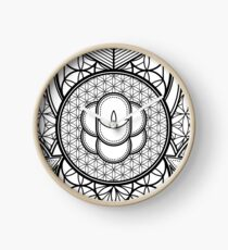Ultra Sacred Geometry Clock