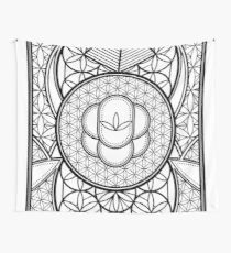 Ultra Sacred Geometry Wall Tapestry