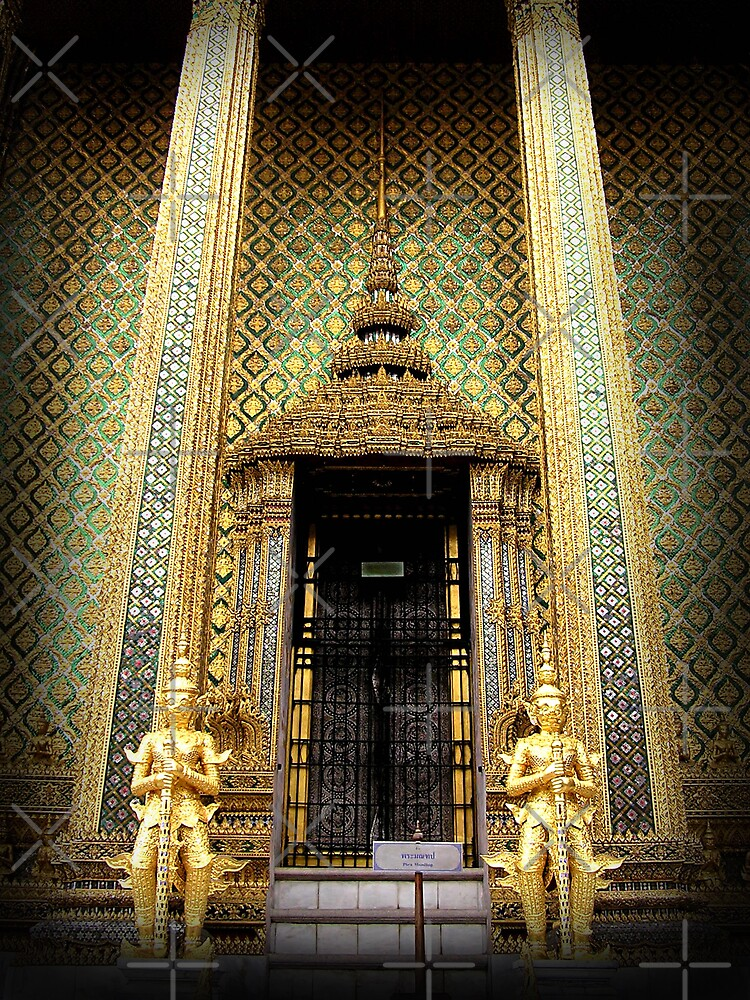 Guardians of the Golden Palace by fatfatin