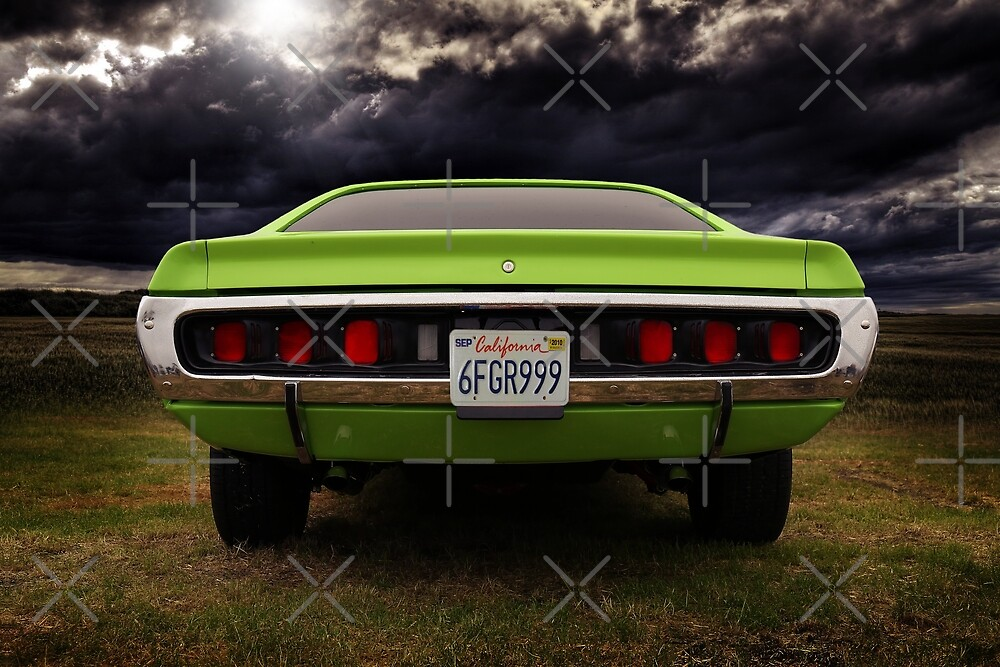 1971 dodge charger, dodge charger 500 by hottehue