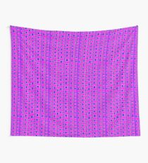 The straight story in wavy lines Wall Tapestry