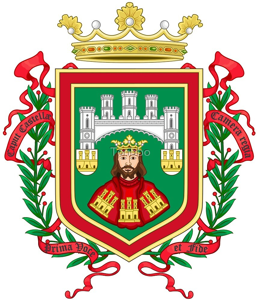 Burgos coat of arms by Tonbbo