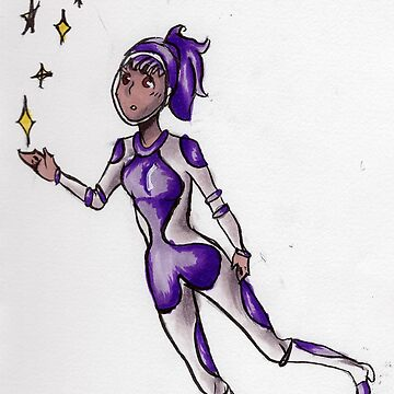 Space Girl by DaFangirl