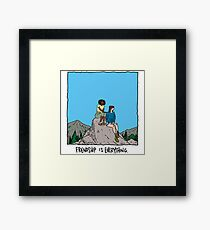 Friendship is Everything Framed Print