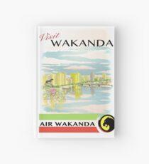 Besuchen Sie Wakanda- Vintage Travel Ad Notizbuch