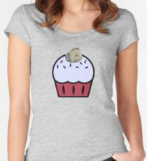 KD Championship Cupcake Women's Fitted Scoop T-Shirt