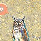 Twit Twitter Owl by ArtyMargit