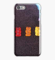 Rainbow gummy bears iPhone Case/Skin