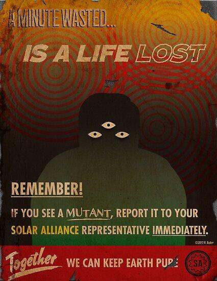 Anti-Mutant Propaganda by OculusOrbus
