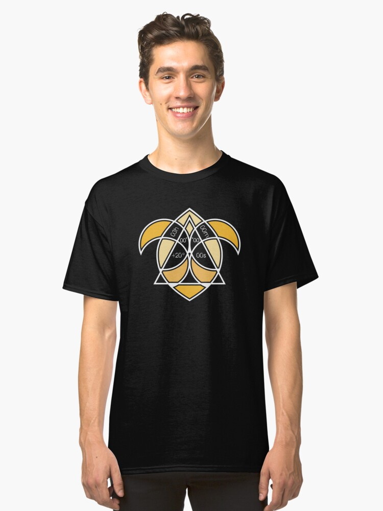 Constellation Aries Classic T-Shirt Front