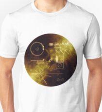Der Goldene Rekord der Voyager! Slim Fit T-Shirt