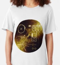 The Voyager Golden Record! Slim Fit T-Shirt