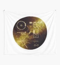 The Voyager Golden Record! Wall Tapestry