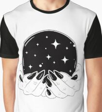 Kristallkugel Grafik T-Shirt