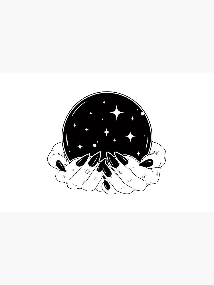Bola de cristal de natashasines