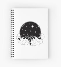 Crystal Ball Spiral Notebook