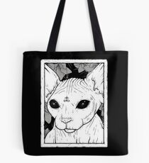 Occult Cat Tote Bag