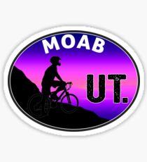MOAB UTAH MOUNTAIN BIKE ARCHES NATIONAL PARK BIKING BIKER 2 Sticker