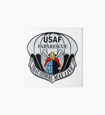 USAF Para Rescue Special Forces Logo Art Board