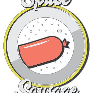 Space Sausage (Logo Only) by GabJ