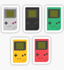 Gameboy Play it Loud! (white) Sticker