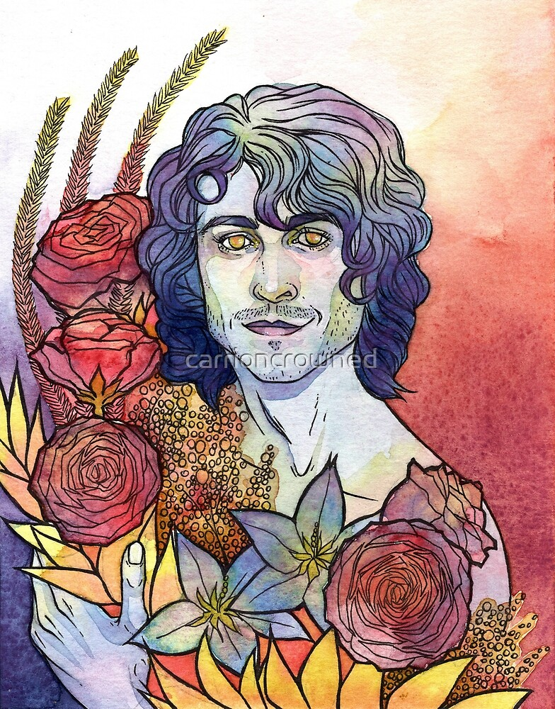 Adam Flowers by carrioncrowned