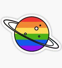 Gay Planet Sticker
