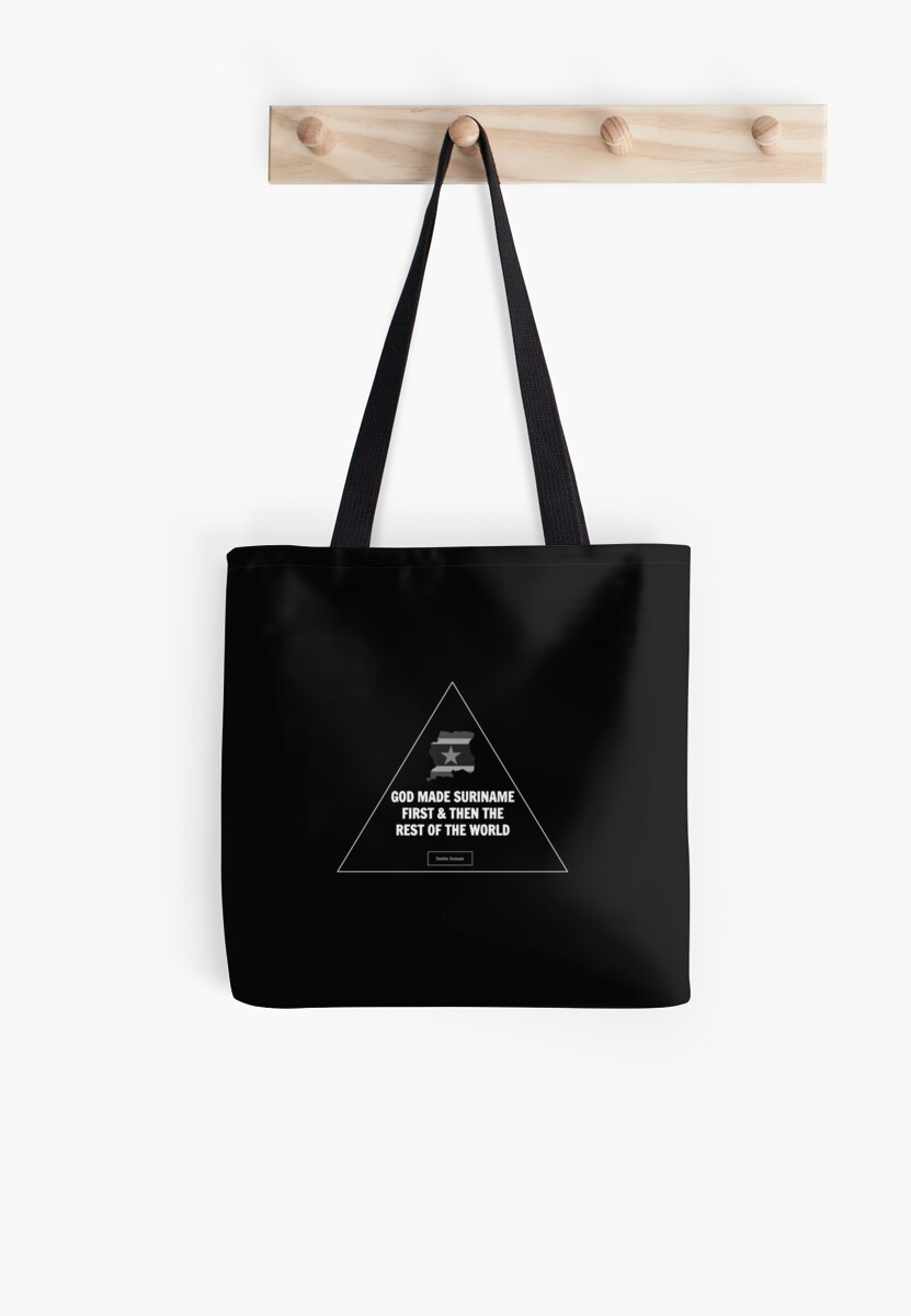 Suriname First Tote by SurinameFirst