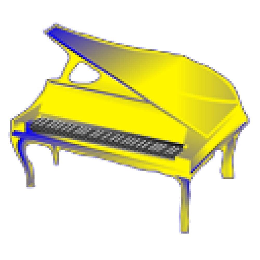 Yellow Piano by Yellow-Piano