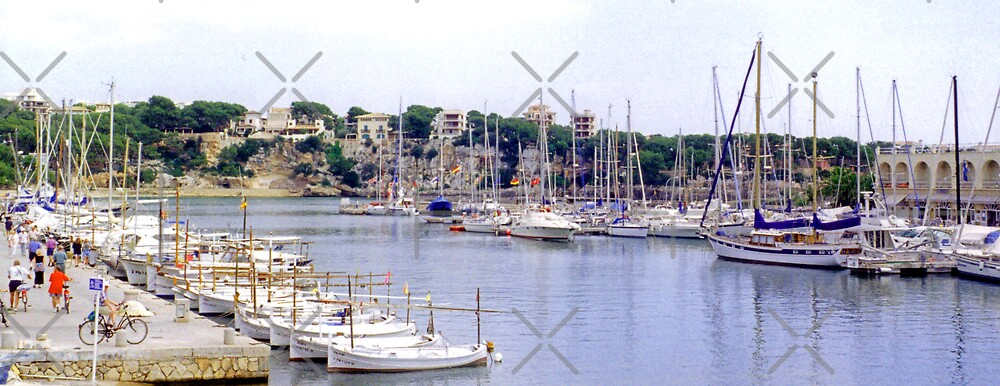 Porto Christo Harbour III by Tom Gomez