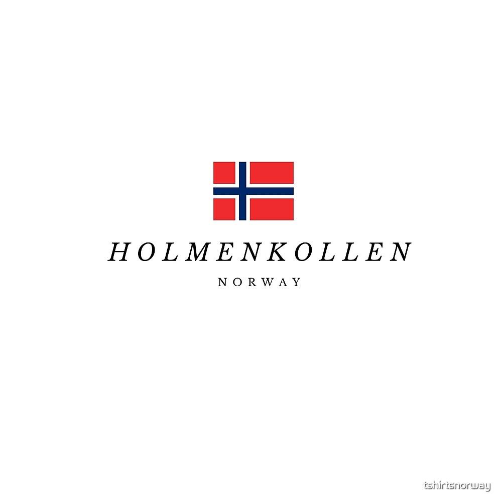 Holmenkollen in Norway by tshirtsnorway